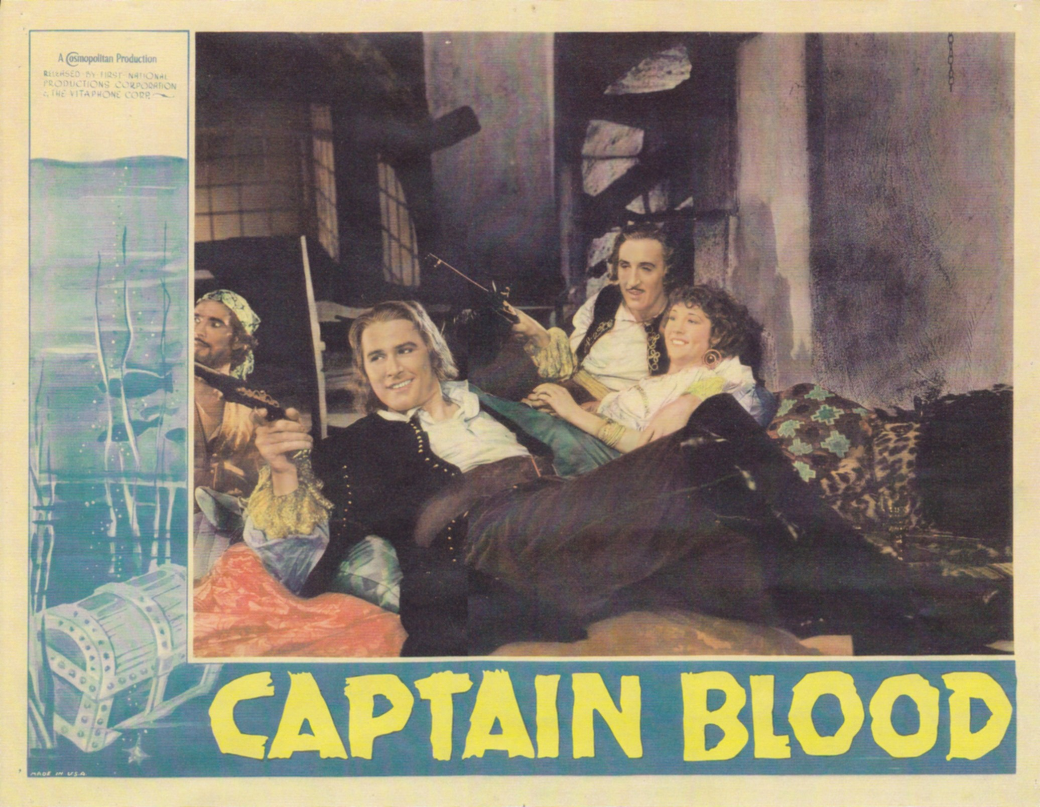 Basil Rathbone, Master of Stage and Screen: Captain Blood