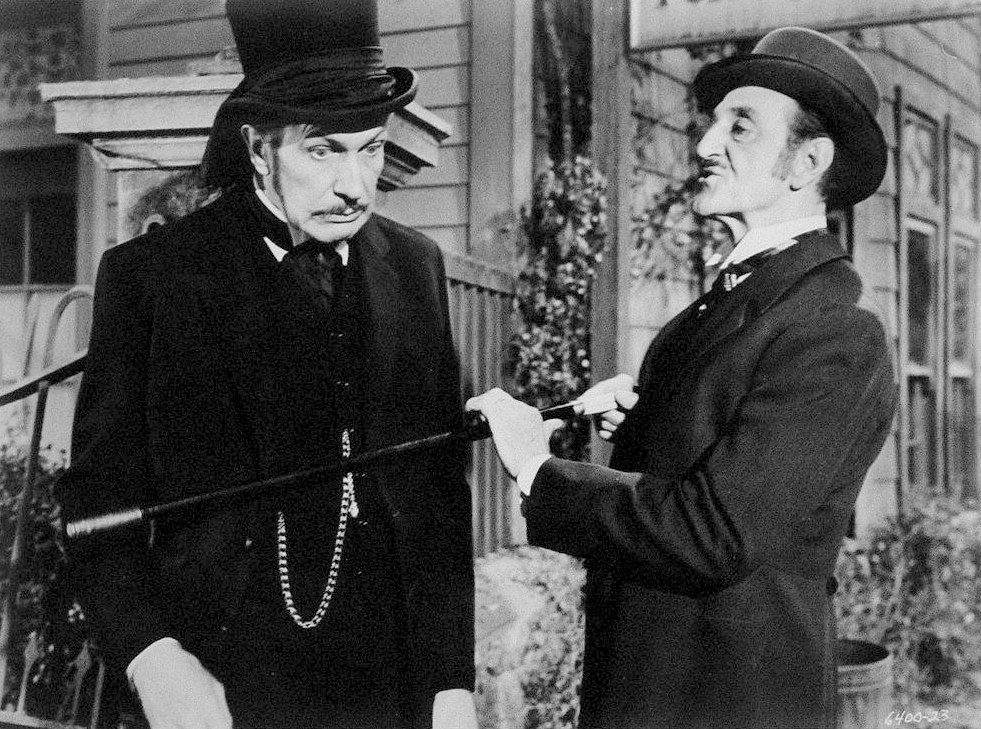 Vincent and Basil in The Comedy Of Terrors