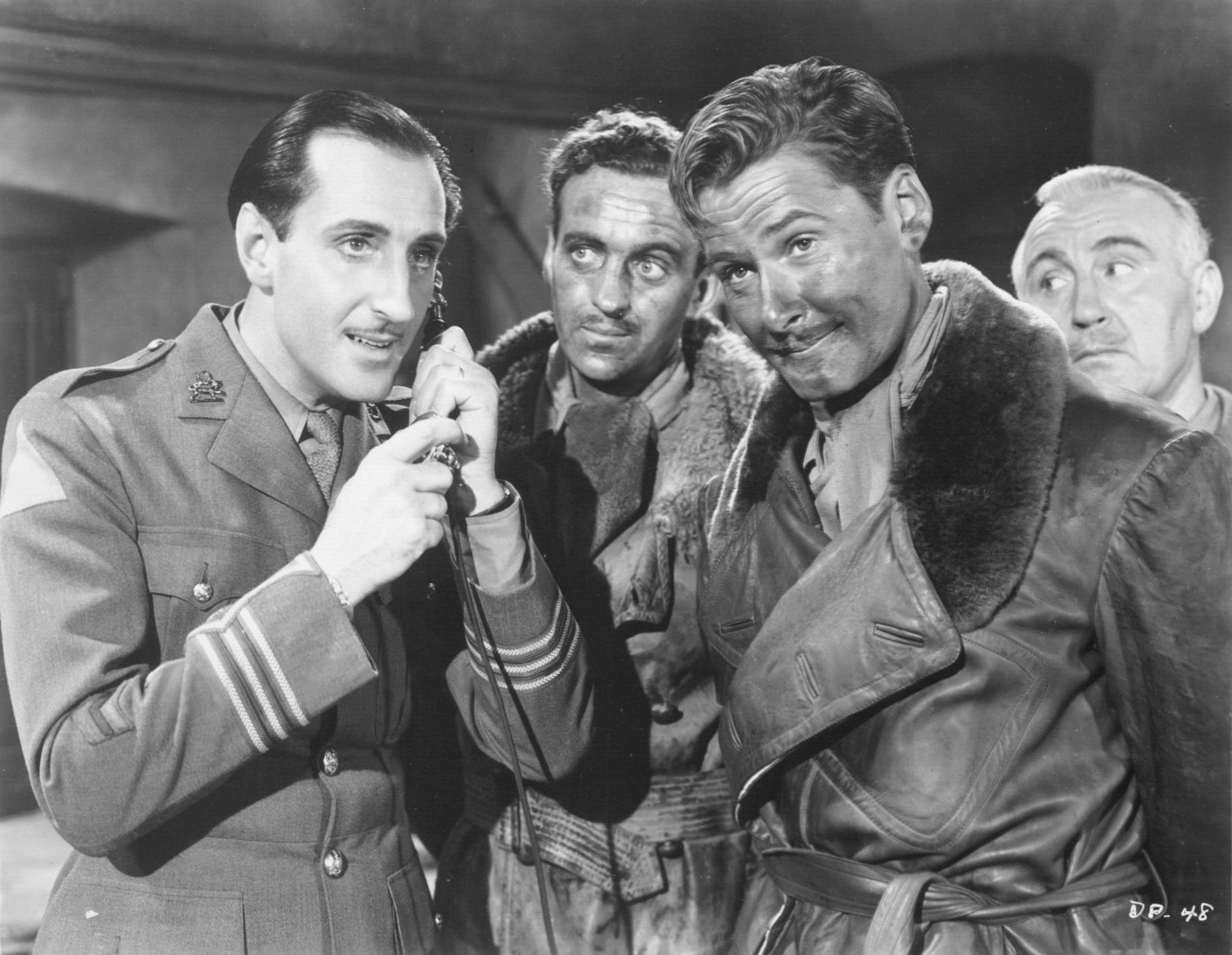 basil rathbone master of stage and screen the dawn patrol