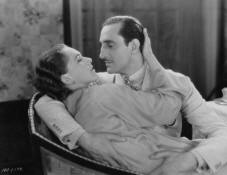 Basil Rathbone and Rose Hobart