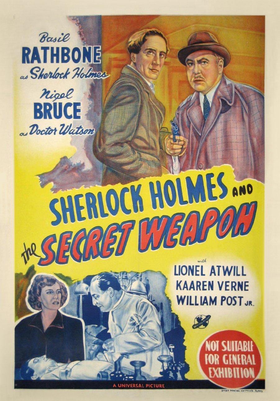 Image result for sherlock holmes australian poster