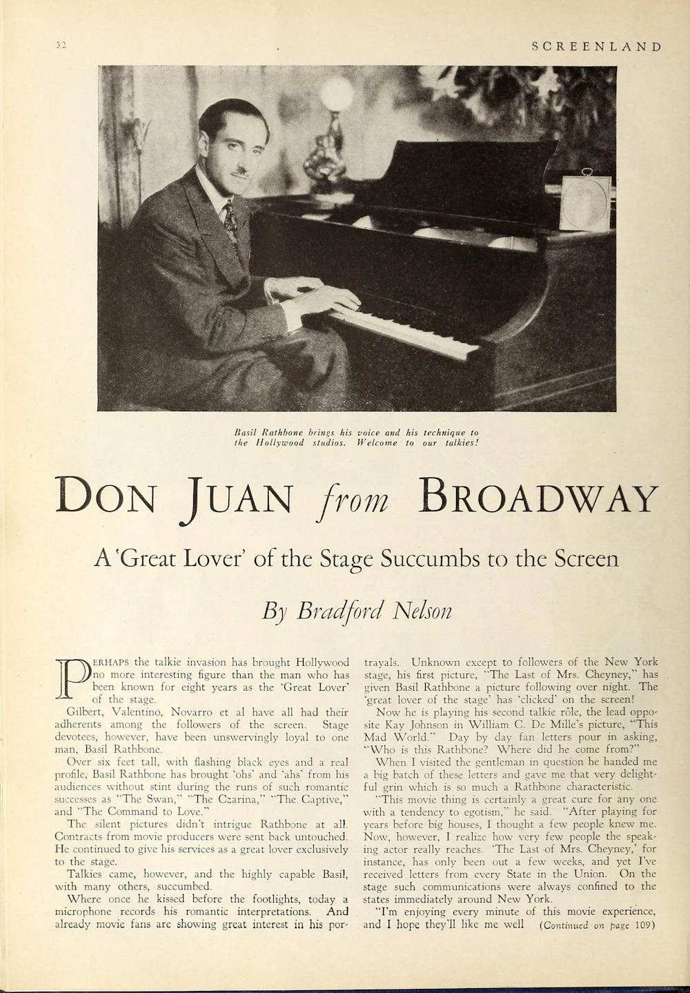 basil rathbone master of stage and screen the library the article don juan from broadway pdf file