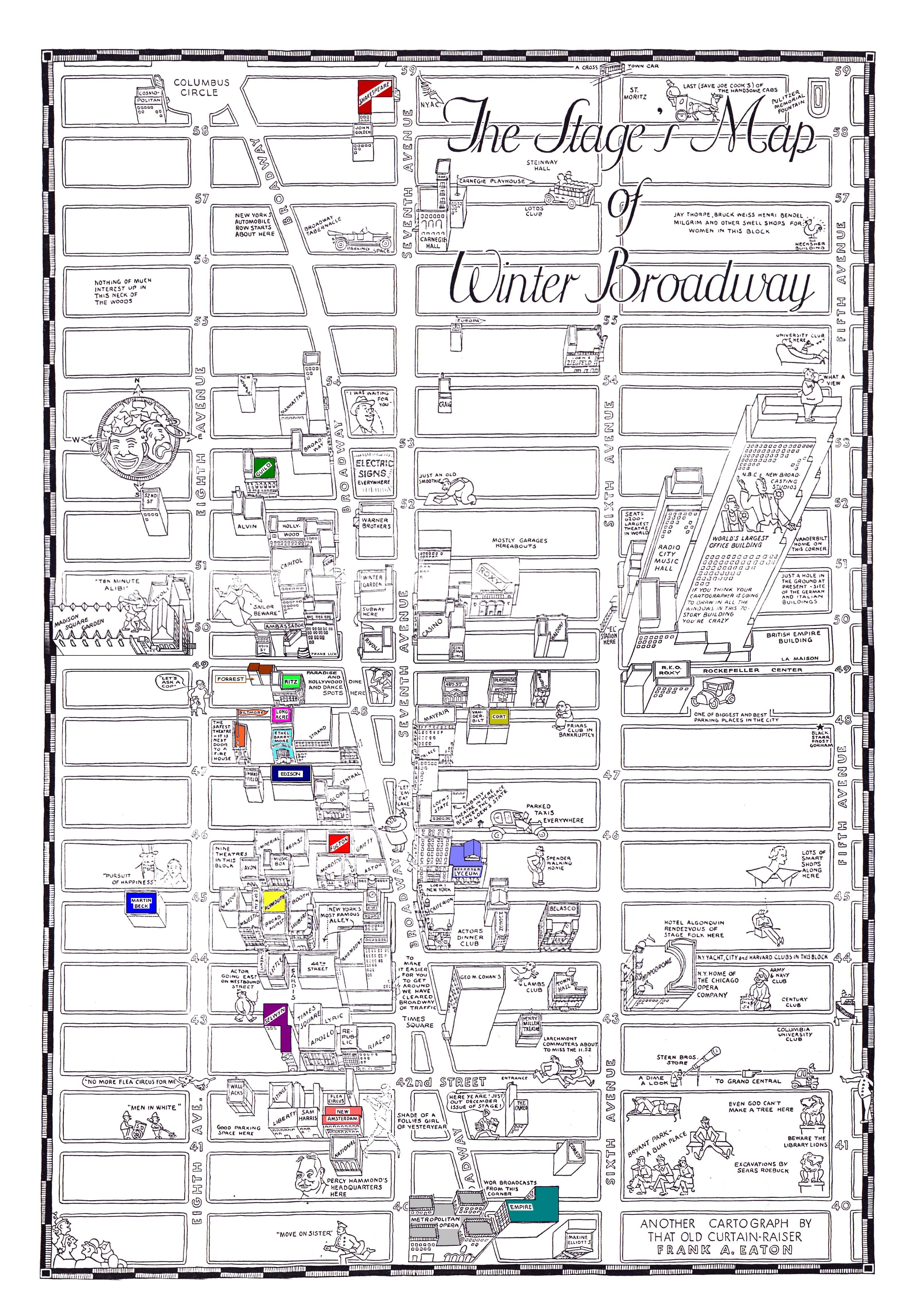 map Broadway